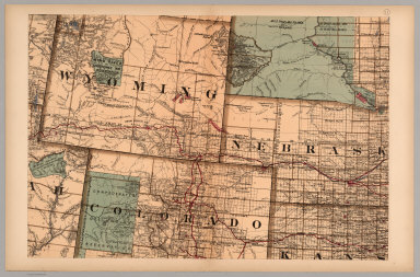 Browse All : Images of Colorado and Wyoming - David Rumsey ...