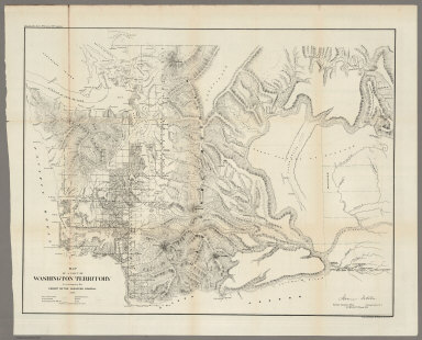 Map of a Part of Washington Territory,1859