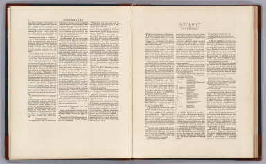 Text Page: Topography. Geology. (New Hampshire).