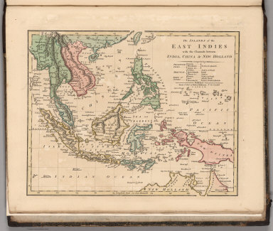 The Islands of the East Indies with the Channels between India, China & New Holland.