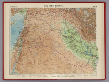 Browse All : Images of Iraq - David Rumsey Historical Map Collection