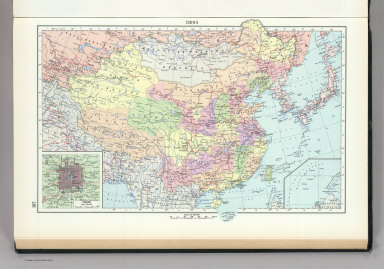 107. China, Political. The World Atlas.