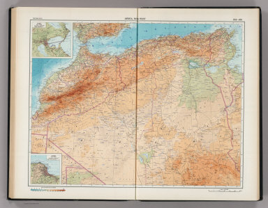164-165. Africa, North-west. The World Atlas.