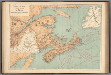 No.10, Telegraphs : Quebec and Maritime Provinces