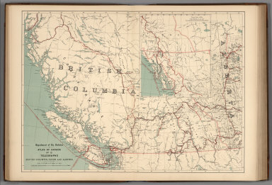 No.13, Telegraphs : British Columbia, Yukon and Alberta