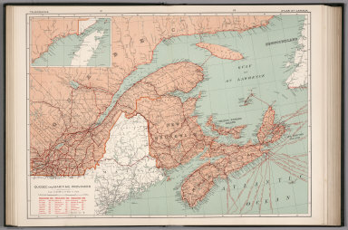 Quebec and Maritime Provinces. Telegraphs