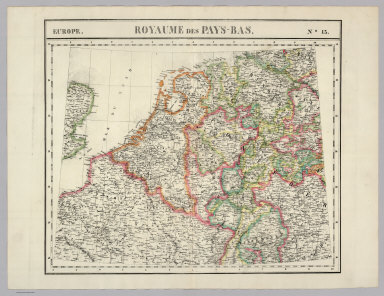 Royaume des Pays-Bas. Europe 13.