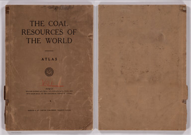 Covers: Atlas of Coal Resources of the World.