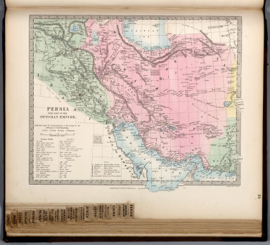 Persia with Part of the Ottoman Empire.