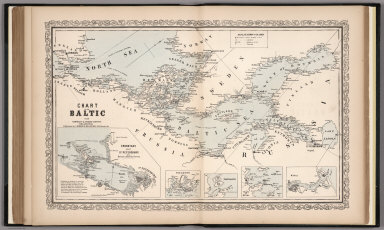 Chart of the Baltic