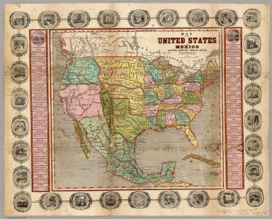 Browse All Images Of California And Oregon From 1846 David
