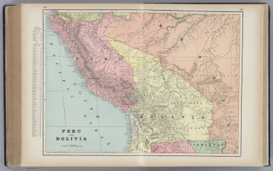 Browse all images of peru david rumsey historical map collection cram george peru and bolivia 1901 world atlas gumiabroncs Gallery