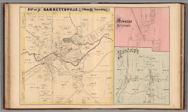 Browse All Atlas Map Of Portage County 28ohio 29 From 1874