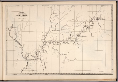 Rivers In Ohio Map.Browse All Rivers Of Ohio River David Rumsey Historical Map
