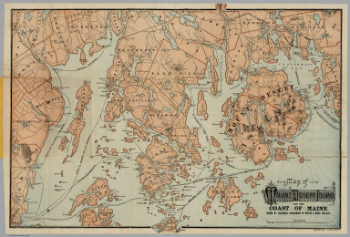 Browse All Images Of Maine Coast David Rumsey Historical Map