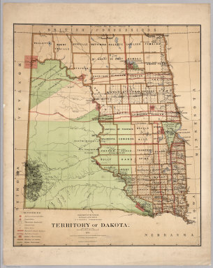 Maps Of U S States And Territories 1876 1944 U S General Land Office Washington D C 24 Maps From The U S General Land Office Show Official Surveys