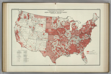 Areas of Soil Surveys. Atlas of American Agriculture.