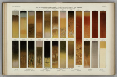 Color Profiles of Representative Soils. Atlas of American Agriculture.