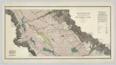 Sheet No. 2, North-central Portion, Irrigation Map of the San Joaquin Valley, California.
