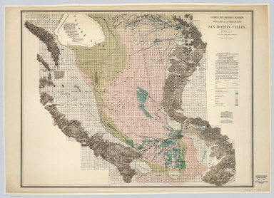 Sheet No. 4, Southern Portion, Irrigation Map of the San Joaquin Valley, California.