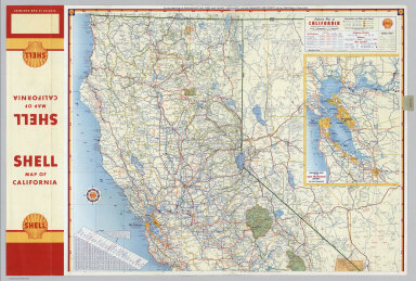 Browse All Roads Of California David Rumsey Historical