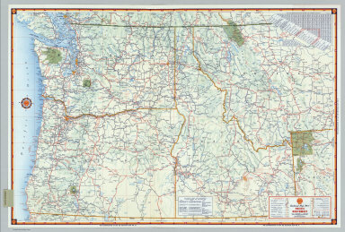 Browse All : Atlas Map of Pacific Northwest States - David Rumsey ...