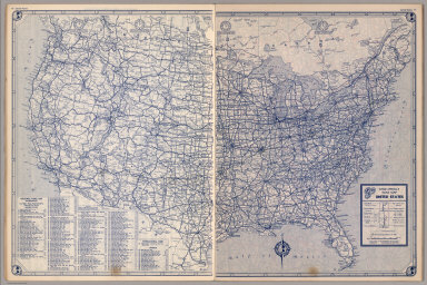 Browse All : Roads from 1940 - David Rumsey Historical Map Collection