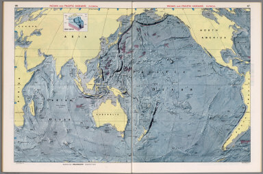 Indian and Pacific Oceans Physical.