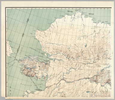 Browse All Roads And Separate Map Of Alaska David Rumsey