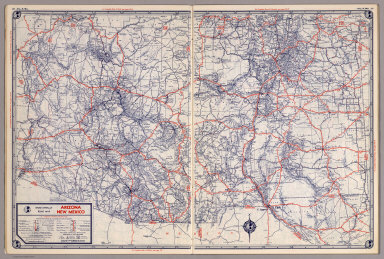Map Of Arizona And New Mexico.Browse All Images Of Arizona And New Mexico David Rumsey