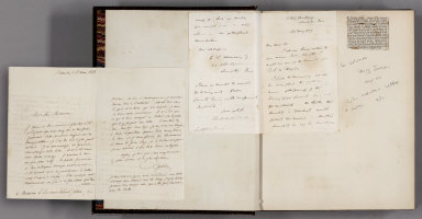 Letter: 2 manuscript, and a note