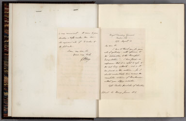 Letter: Royal Observatory, Greenwich, London. 1872, August 10