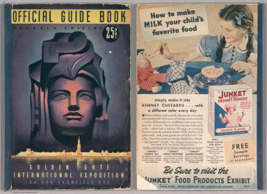 Covers: Official Guide Book: Revised edition. Golden Gate International Exposition