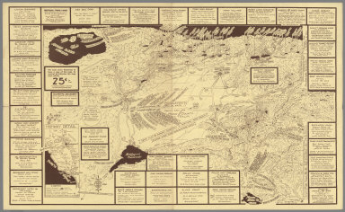 1955 Map and resort directory of Southern Mono County