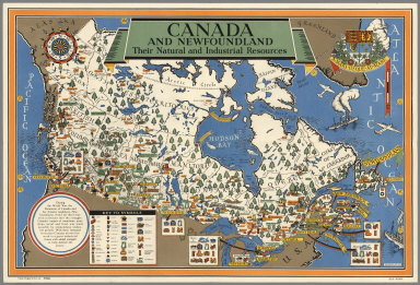 Canada and Newfoundland : Their natural and industrial resources