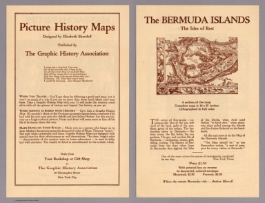 Covers: Picture history maps. Designed by Elizabeth Shurtleff