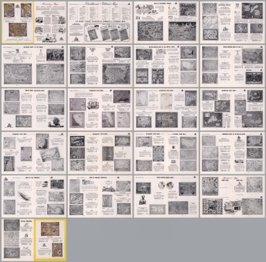 Composite text: Hagstrom's decorative and historical maps