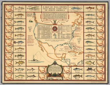 Browse All Fishing Of Central America David Rumsey Historical