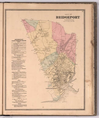 Browse All : Atlas Map of Fairfield County %28Conn.%29 from 1867 ...
