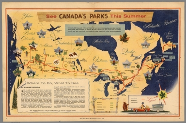 See Canada's parks this summer. Parlane, 58
