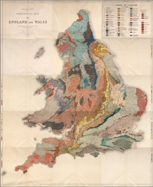 Composite: Sheets 2 - 15. Ordnance Survey of England and Wales.