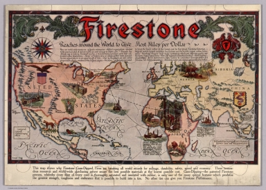 Puzzle Map: Firestone Reaches Around the World to Give Most Miles per Dollar