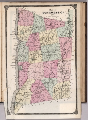 Dutchess County Parcel Mapping Browse All : County Atlas of Dutchess County %28N.Y.%29   David