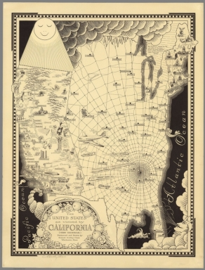 Browse All Images From David Rumsey Historical Map Collection - Map from 1940 us