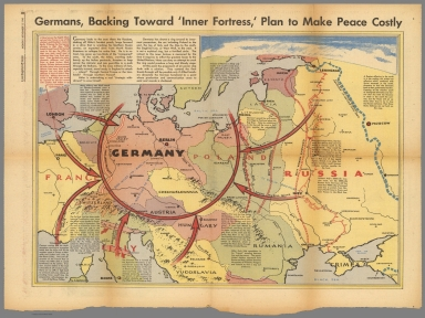 """Germans, backing toward """"Inner Fortress"""" plan to make peace costly"""
