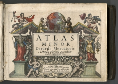 Title Page: Atlas minor Gerardi Mercatoris