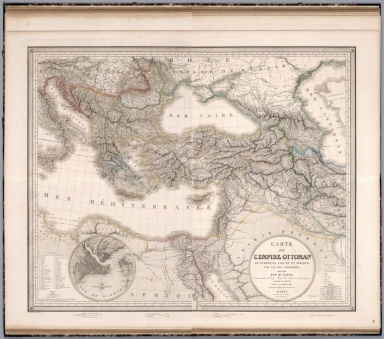 Composite Map: Carte de l'Empire Ottoman.