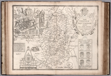 (Nottinghamshire). The Countie of Nottingham.