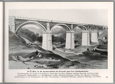 View: GB 1, BB 3, Nr. 38: Ouseburn-Brucke bei Newcastle upon Tyne, England.
