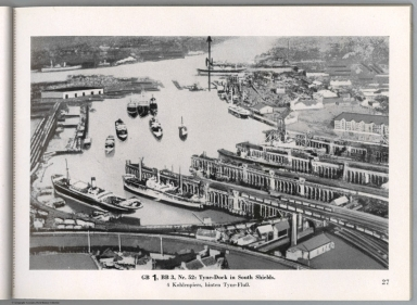 View: GB 1, BB 3, Nr. 52: Tyne-Dock in South Shields, England.
